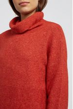 Louche-Juana-Knitted-Rib-Detail-Dress-Red---Other
