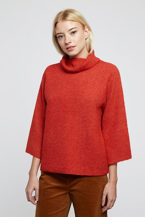 Louche Orama Jumper Red (Burnt Orange)