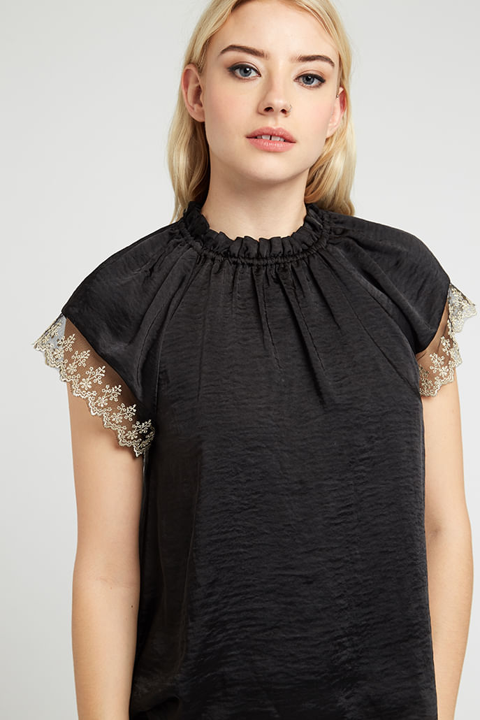 Louche-Lea-Lace-Trim-Top-Black---Main