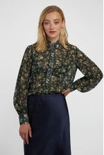 Louche-Byron-Mapleleaf-Printed-Blouse-Green---Main