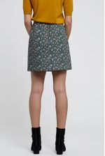 Louche-Aubin-Quilted-Floral-Print-Skirt-Teal---Other