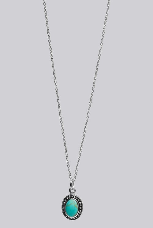 Louche Luxe Elee Sterling Silver Necklace