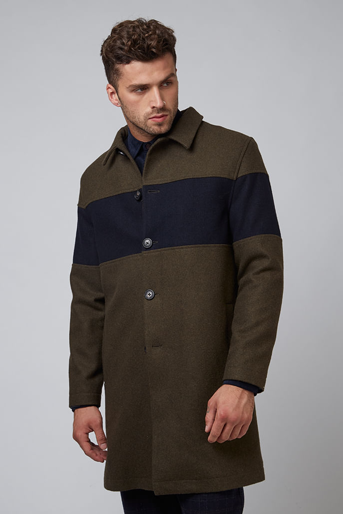 Hymn-Chest-Panel-Wool-City-Coat-Khaki---Main