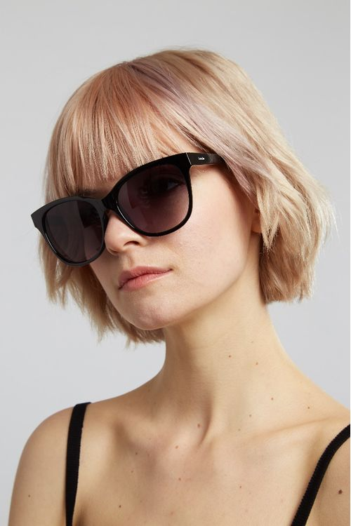 Louche Dena Core Sunglasses Black