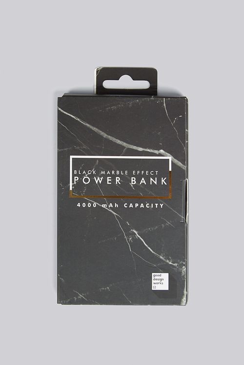 Black Marble Power Bank