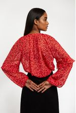 Louche-Alba-Cupid-Blouse-Red---Second
