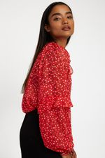 Louche-Alba-Cupid-Blouse-Red---Other