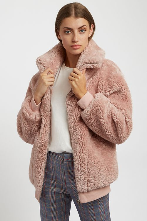 Louche Woody Jacket Pink