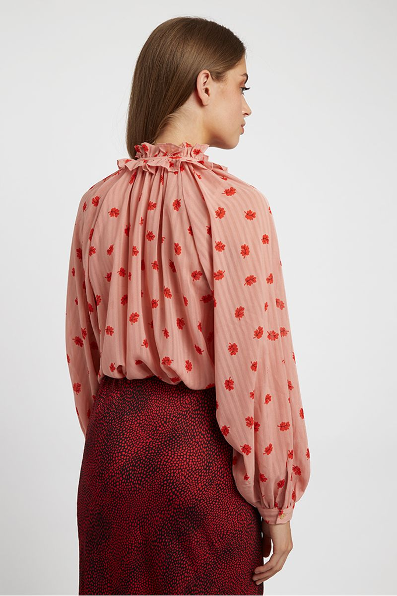 Louche-Gerome-Oakleaf-Blouse-Pink-Other