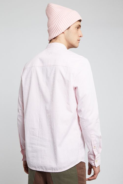 Hymn Fisherking Shirt Pink