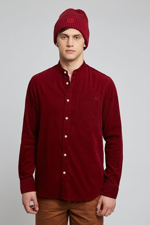 Hymn Tuft Shirt Red