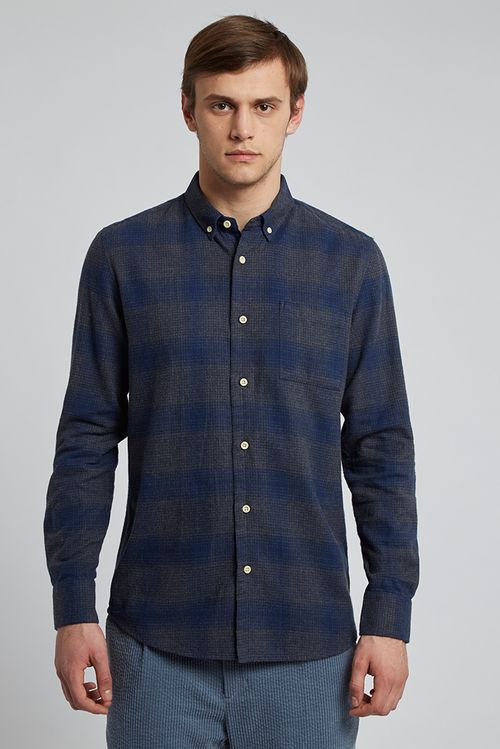 Hymn New Sammonds Shirt Blue