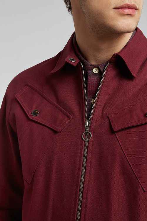 Hymn Realm Jacket Red
