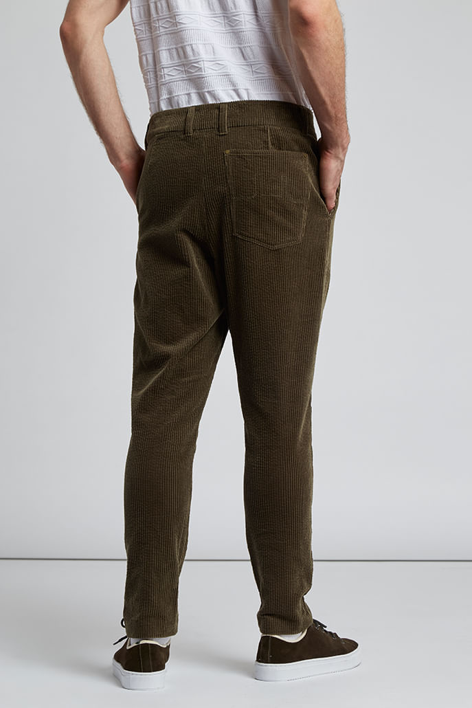 Hymn-Boothby-Cord-Trousers-Khaki-Second