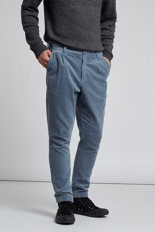 Hymn Boothby Cord Trousers Pale Blu