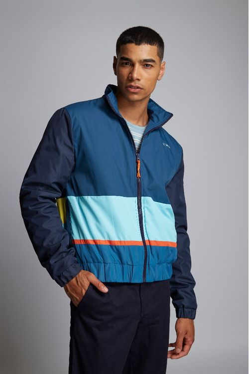 Hymn Day Colourblock Sunset Jacket Teal