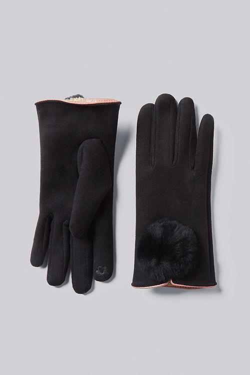 Louche Jabin Touch Screen Glove Black