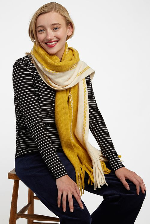 Louche Magus Scarf Mustard