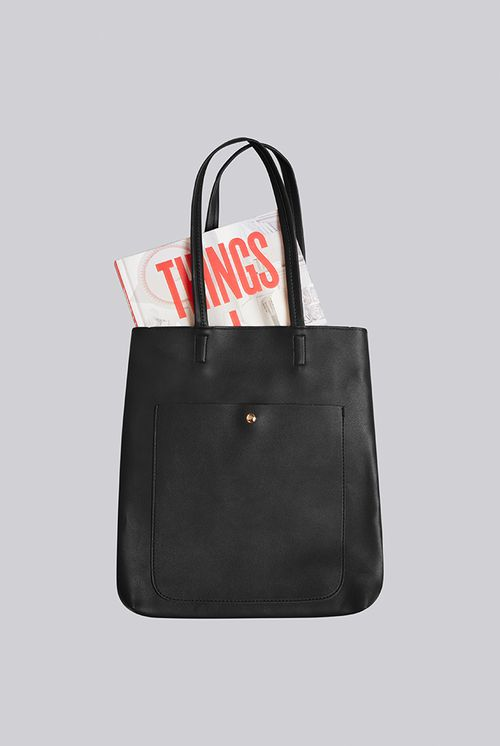 Louche Rusty Shoulder Bag Black