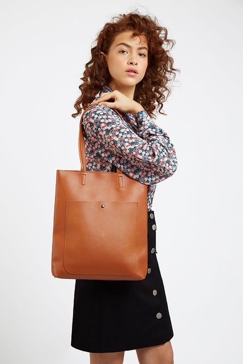 Louche Rusty Shoulder Bag Brown