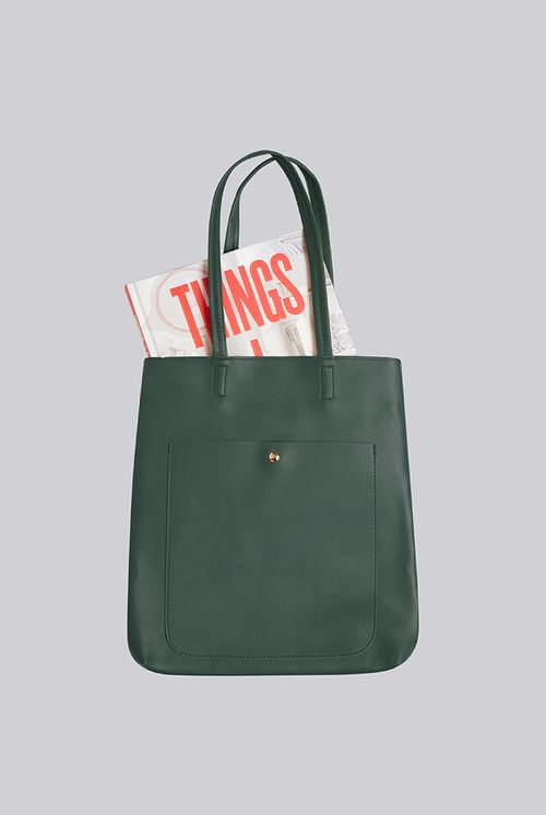 Louche Rusty Shoulder Bag Green