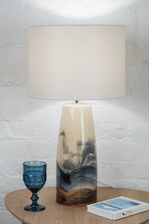 HAND_PAINTED_SPECKLE_LAMP_WITH_SHADE_1