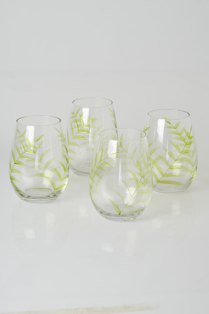 SET_OF_4-LEAF_DESIGN_GLASSES_2