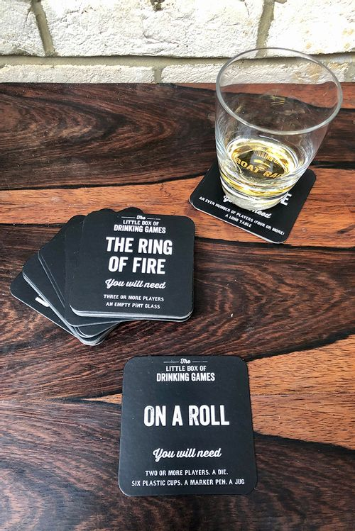 The Little Box Of Drinking Games Beer Mats