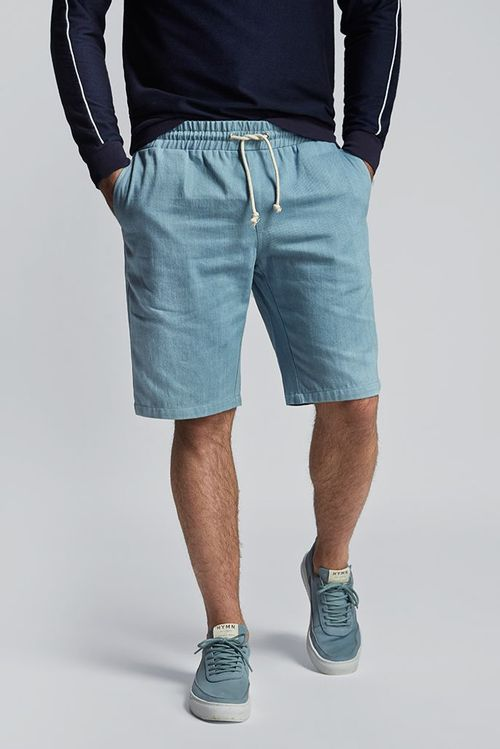 Hymn Lantern Bleach Denim Short Blue
