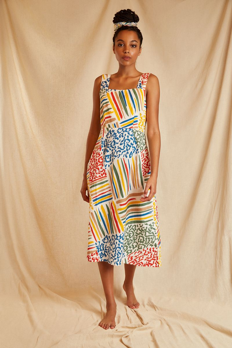 ZION_PAINTED_PATCHWORK_DRESS_1
