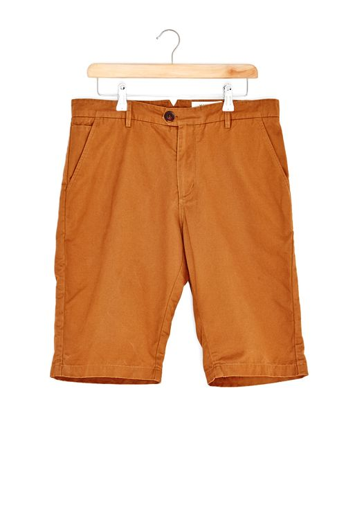 Hymn Hedley Twill Chino Shorts Orange