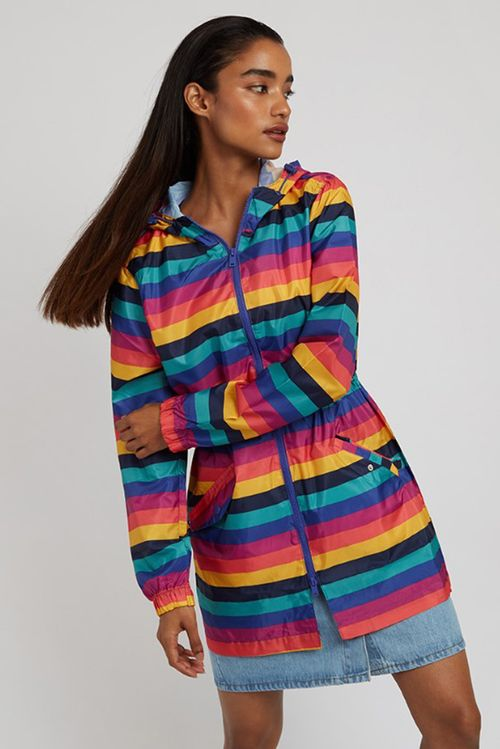 Bravesoul Rainbows Jacket Multi
