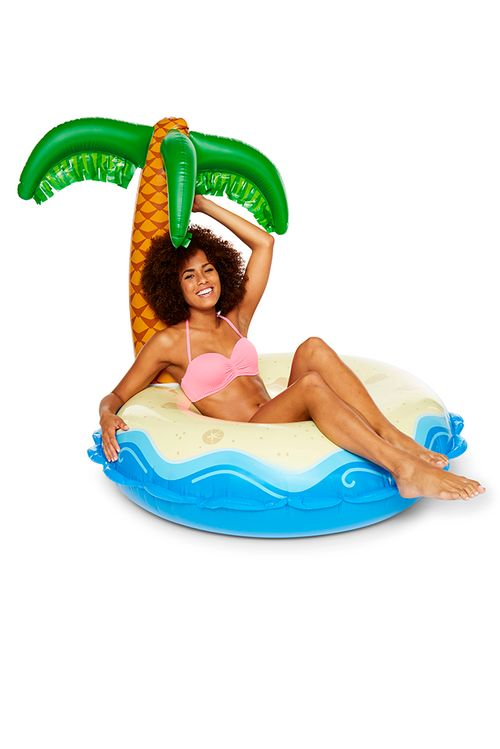 Palm Tree Island Float