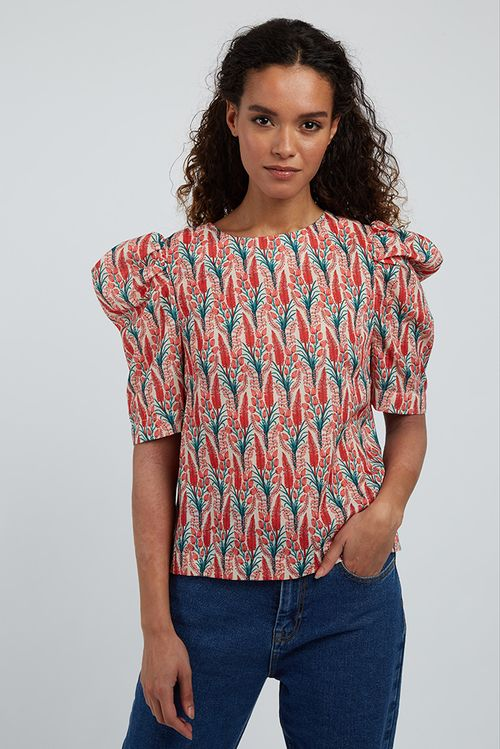 Louche Kalea Hollyhock Blouse Multi