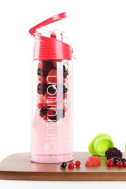 Infruition Water Bottle- Red