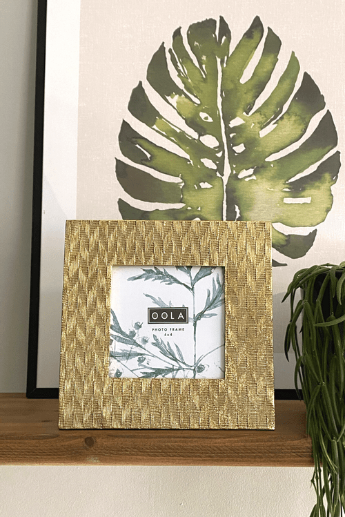 Gold Photo Frame 4X4
