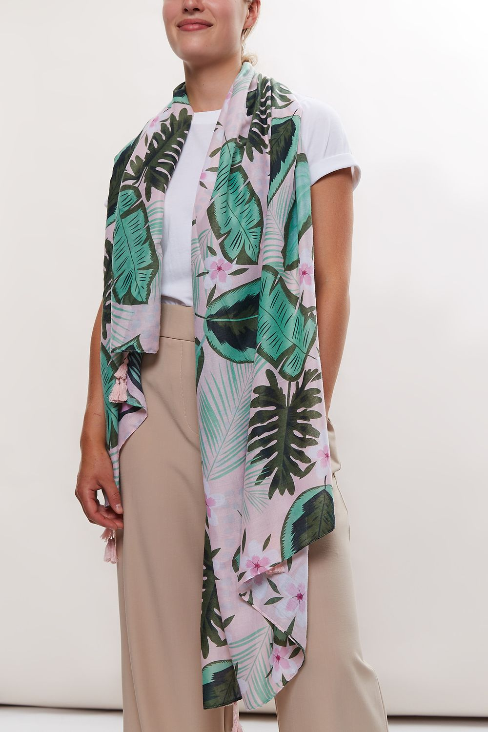 Louche Plant Lady Printed Scarf